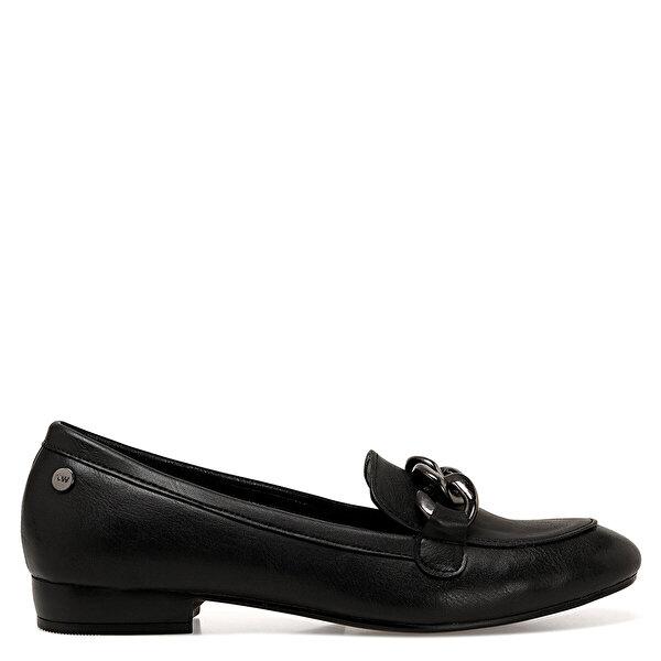 Nine West CROMA2 Siyah Kadın Loafer Ayakkabı