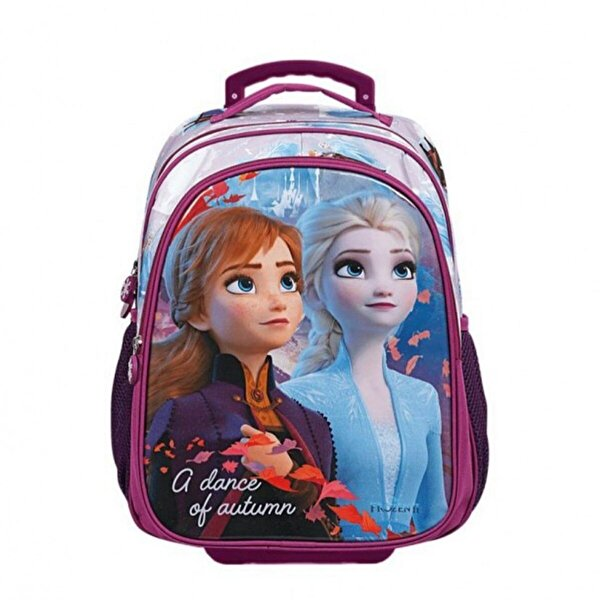 Frozen Kız Çocuk  Check Dance O Tekerlekli İlkokul Çantası 5100