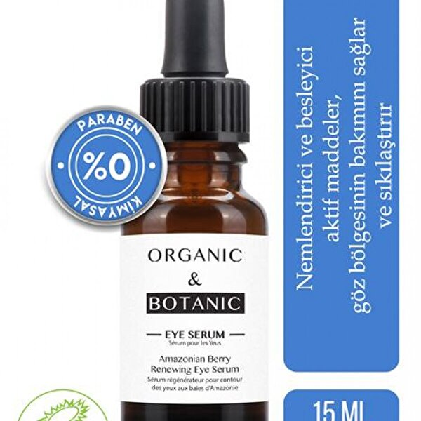 ORGANIC & BOTANIC Organic & Botanic Amazon Böğürtleni Yenileyici Göz Serumu 15 ml