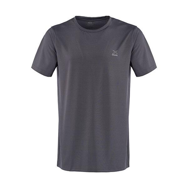 Kinetix BASIC PES C NECK T-SHIRT Gri Erkek T-Shirt