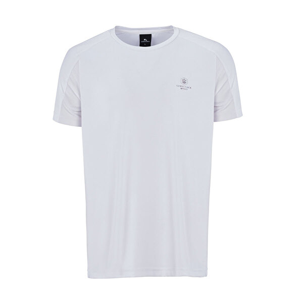 Lumberjack BORIS T-SHIRT Beyaz Erkek T-Shirt