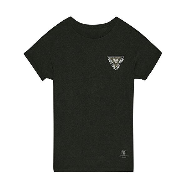 Lumberjack SIMON CHESTPRINT T-SHIRT Haki Erkek T-Shirt