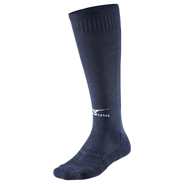 Mizuno V2EX6A55-80 Voleybol Çorabı Lacivert Uzun