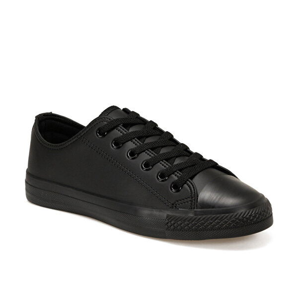 Forester EC-2001 Siyah Erkek Kalın Tabanlı Sneaker
