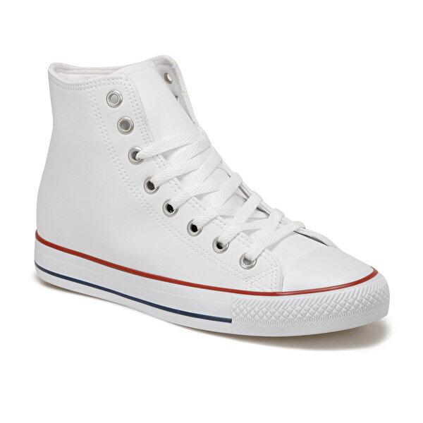 Forester EC-2002 Beyaz Erkek Kalın Tabanlı Sneaker