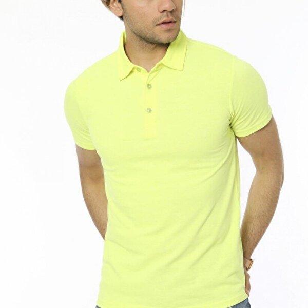 Twenty3 Neon  Pike Polo Gömlek Yaka T.Shirt
