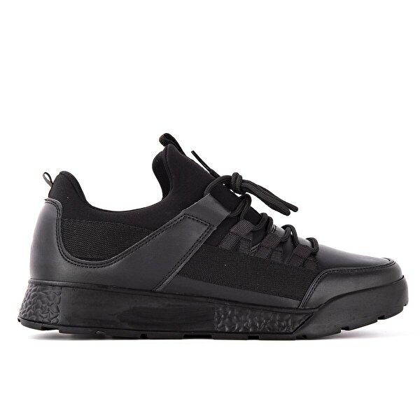 Slazenger ZEBER Koşu & Yürüyüş Erkek Ayakkabı Siyah / Siyah