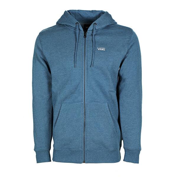 Vans BASIC ZIP HOODIE Mavi Erkek Sweatshirt