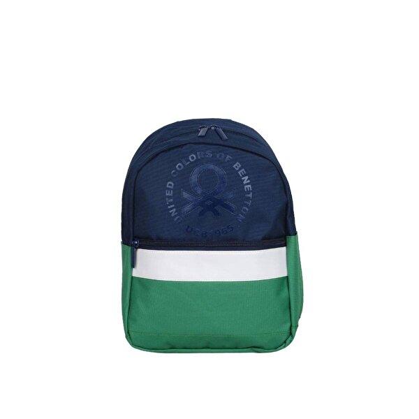 Benetton Unisex  İki Bölmeli Anaokul Çantası 70093