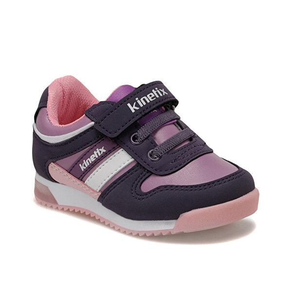 Kinetix FEMAND PU 9PR Mor Kız Çocuk Yürüyüş Ayakkabısı