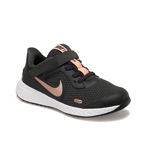 Nike REVOLUTION 5 FLYEASE (PSV Gri Kız Çocuk Koşu Ayakkabısı