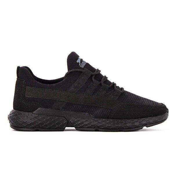 Slazenger TWIN Koşu & Yürüyüş Erkek Ayakkabı Siyah / Siyah