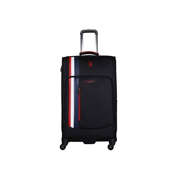 U.S. Polo Assn. Unisex Us Polo Assn . İkonik Şerit Detaylı Büyük Boy Valiz PLVLZ20226A