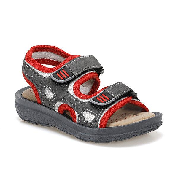 Polaris 512406.P Kırmızı Erkek Çocuk Sandalet
