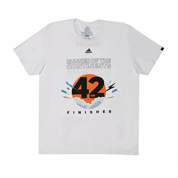 adidas RUN 3S TEE M Turuncu Erkek T-Shirt