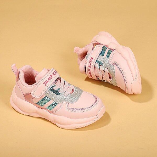 Jump 25962 Cırtlı Kız Çocuk Spor Ayakkabı Pembe