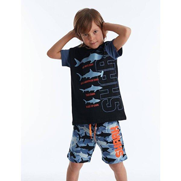 Mushi Köpekbalığı Erkek Çocuk Şort Takım