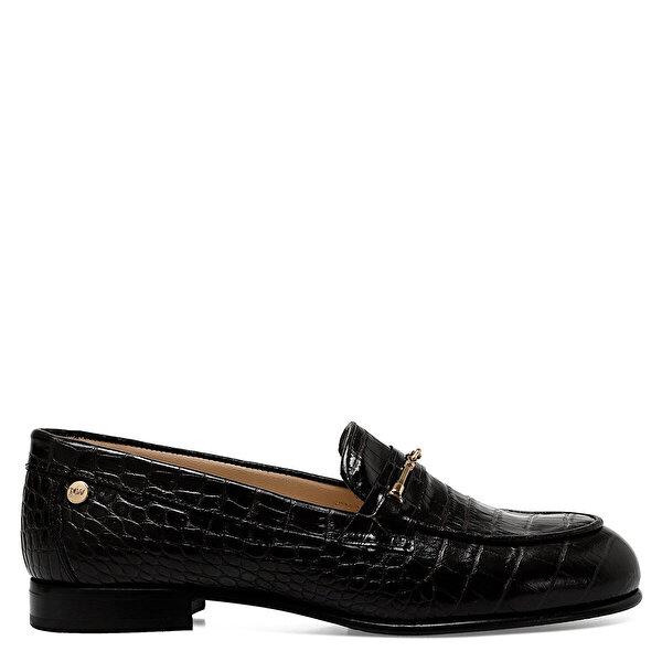 Nine West MAURO Siyah Kadın Loafer Ayakkabı