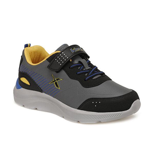 Kinetix ROARS Koyu Gri Erkek Çocuk Yürüyüş Ayakkabısı