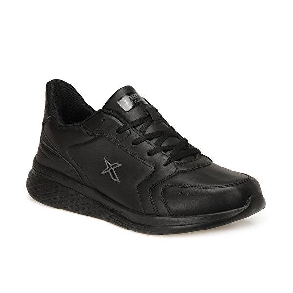 Kinetix MARNED PU Siyah Erkek Koşu Ayakkabısı