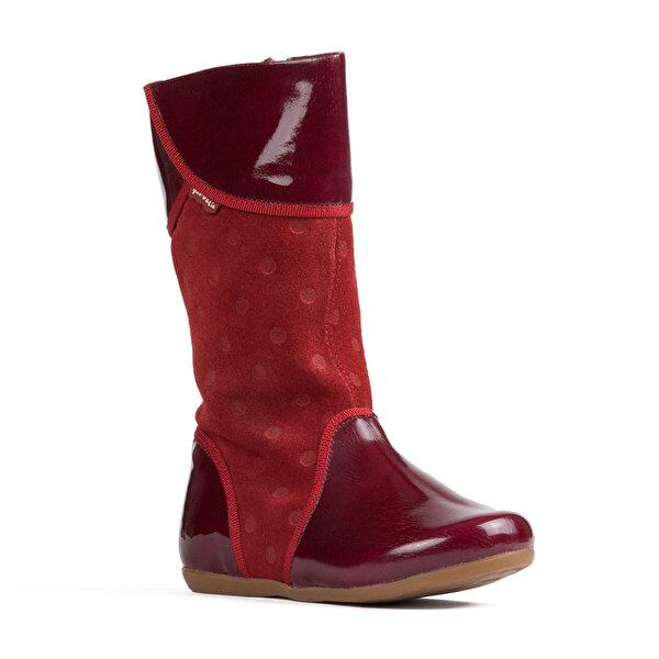 Garvalin 101413 GARVALIN Kırmızı Kız Çocuk Çizme