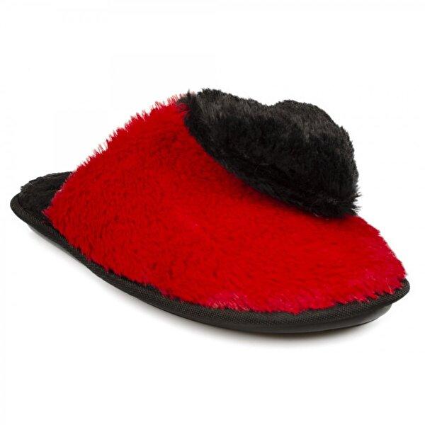 Twigy Rr0216 Z Rastin Ev Terliği Kırmızı Kadın Panduf