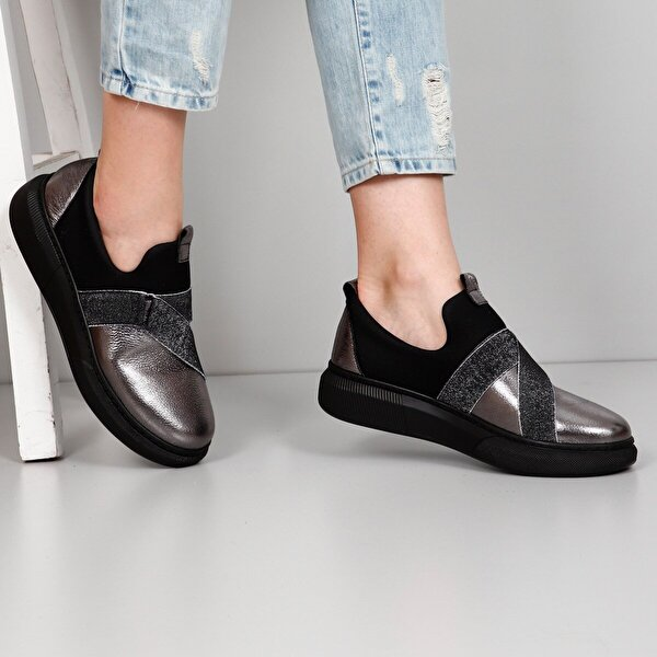 Gön Hakiki Deri Kadın Sneaker 45369
