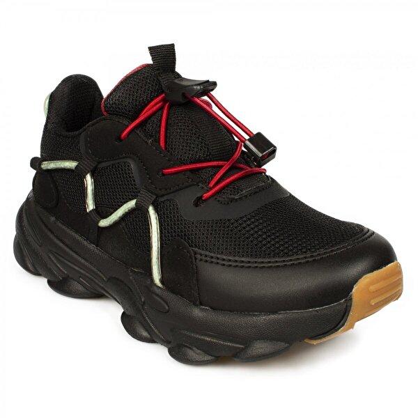 VICCO 346.f20K.160 Filet Phylon Siyah Çocuk Spor Ayakkabı