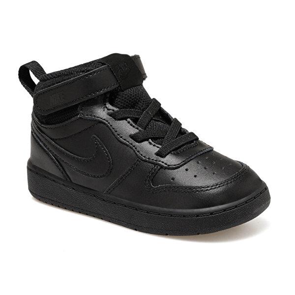 Nike COURT BOROUGH MID 2 (TDV) Siyah Erkek Çocuk Sneaker Ayakkabı