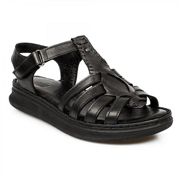 Stella 20277Z Casual Günlük Siyah Kadın Sandalet