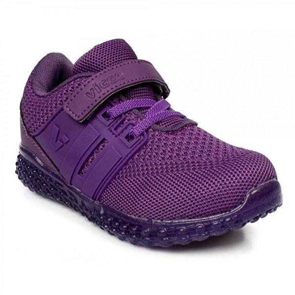 VICCO 313.b20Y.102 Bebe Işıklı Mor Çocuk Spor Ayakkabı