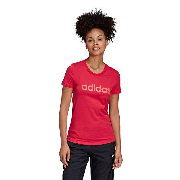 adidas W E LIN SLIM T Pembe Kadın T-Shirt