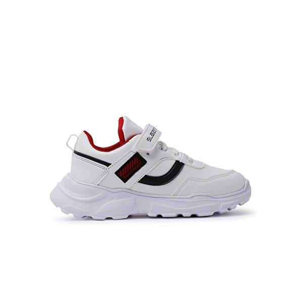 Slazenger ETNA Spor Çocuk Ayakkabı Beyaz / Kırmızı