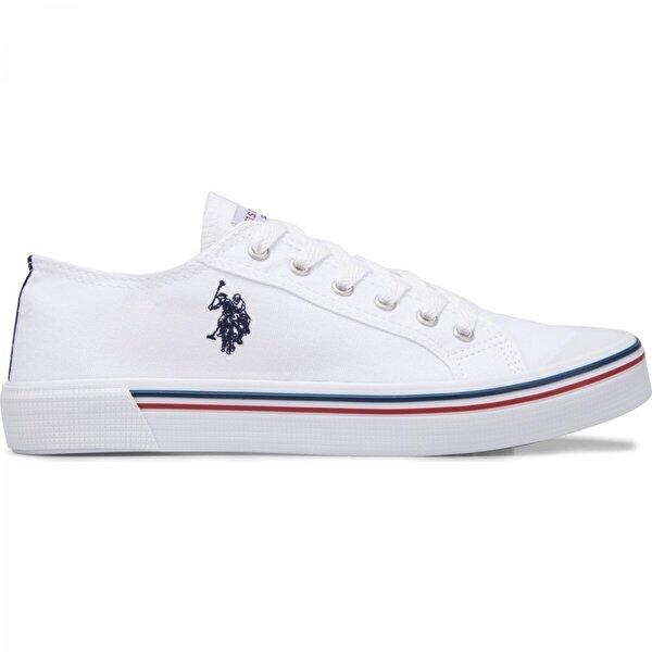 U.S. POLO Assn. Penelope Günlük Yürüyüş Bayan Spor Ayakkabı BEYAZ