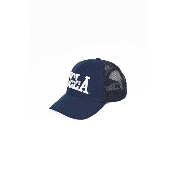 Ucla MCCLOUD Lacivert Fileli Baseball Cap Nakışlı Erkek Şapka