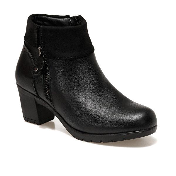 Polaris 161376.Z Siyah Kadın Topuklu Bot