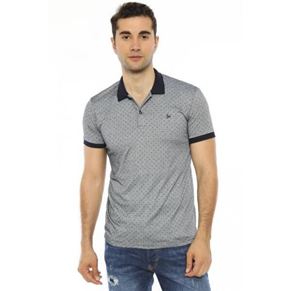 Louis Park Slim Fit Polo Yaka Erkek T.Shirt
