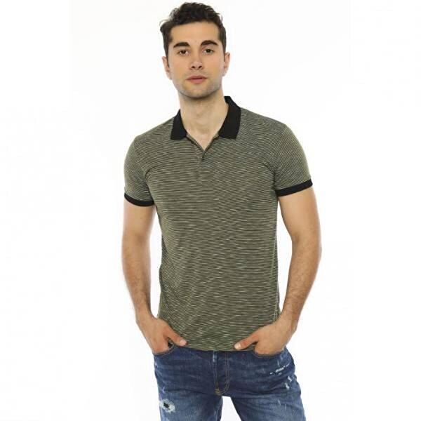 Louis Park Slim Fit Polo Yaka Erkek T.Shirt
