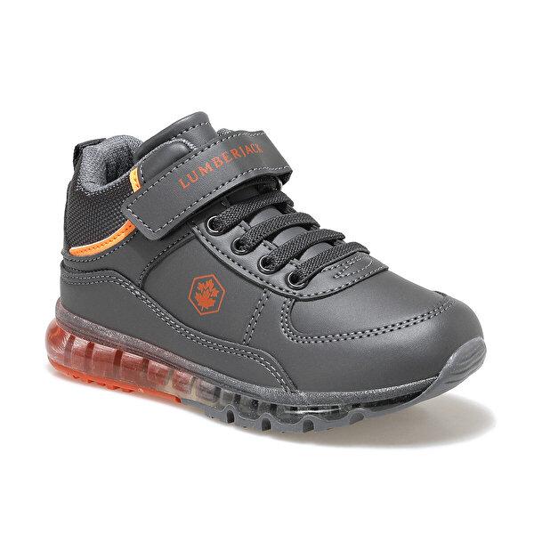 Lumberjack CAP HI 9PR Gri Erkek Çocuk Sneaker Ayakkabı