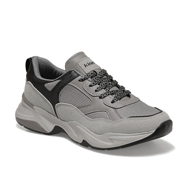 Kinetix VUZGO Gri Erkek Sneaker Ayakkabı