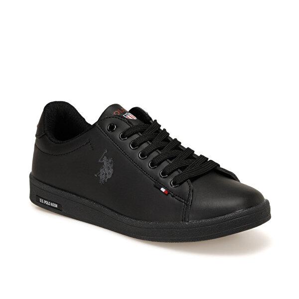 U.S. Polo Assn. FRANCO DHM Siyah Kadın Sneaker Ayakkabı