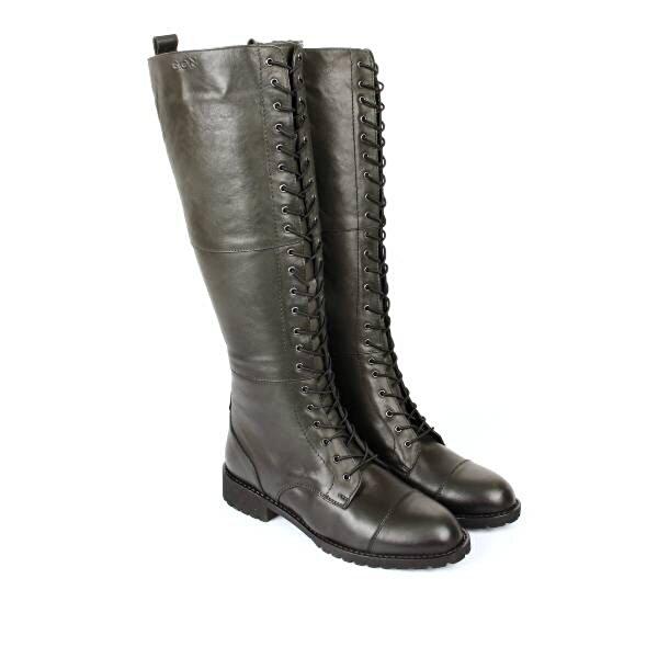 Gön Hakiki Deri Kadın Çizme 44594