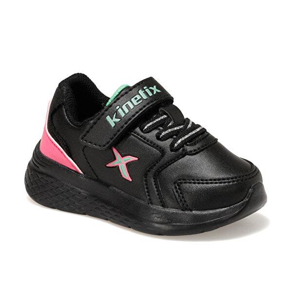Kinetix MARNED J Siyah Kız Çocuk Yürüyüş Ayakkabısı