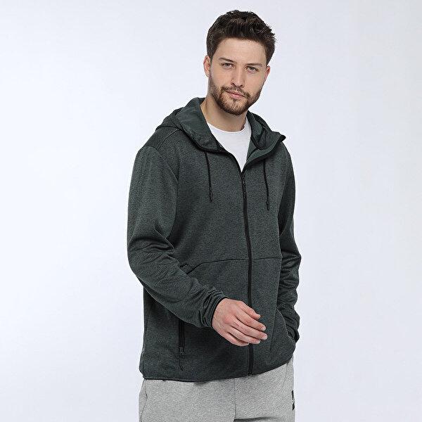 adidas CTC HO FL JKT Yeşil Erkek Sweatshirt