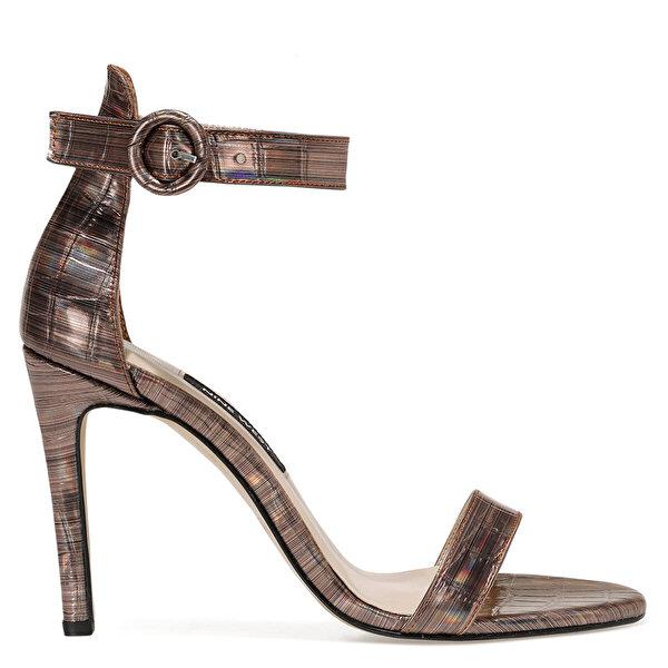 Nine West LINDIT Bronz Kadın Topuklu Sandalet