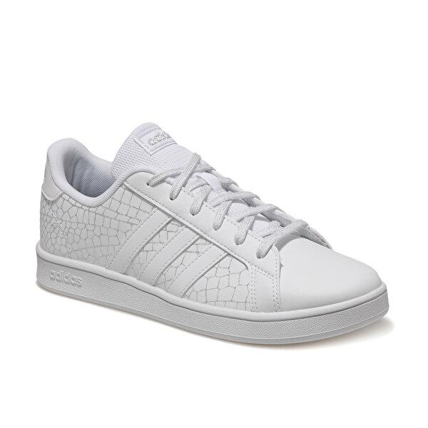 adidas GRAND COURT K Beyaz Erkek Çocuk Sneaker Ayakkabı