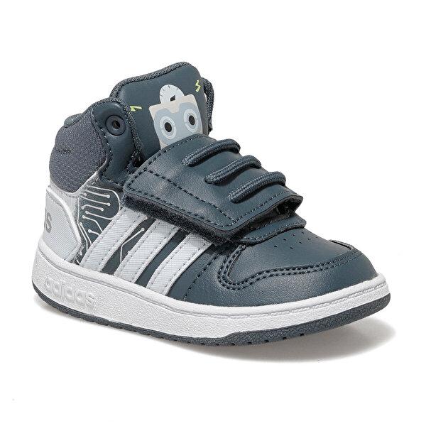 adidas HOOPS MID 2.0 I Lacivert Erkek Çocuk Basketbol Ayakkabısı