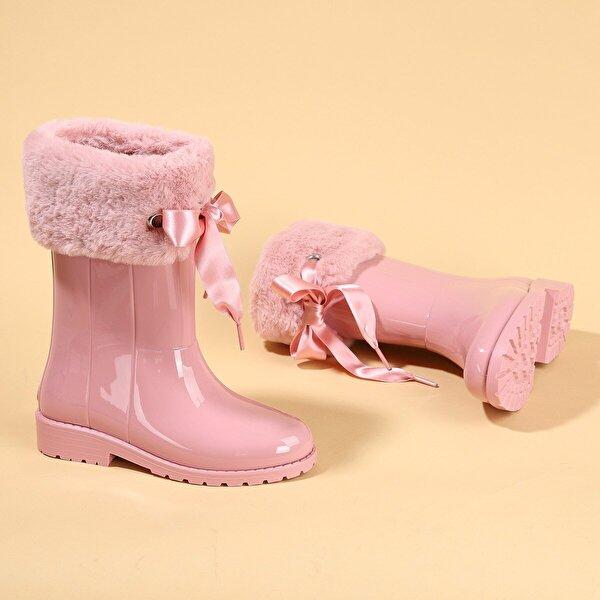Igor İgor W10239 Campera Charol Soft Kız Çocuk Su Geçirmez Yağmur Kar Çizmesi Pembe