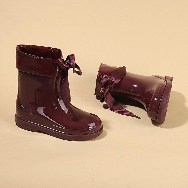 Igor İgor W10238 Bimbi Lazo Kız Çocuk Su Geçirmez Yağmur Kar Çizmesi BORDO