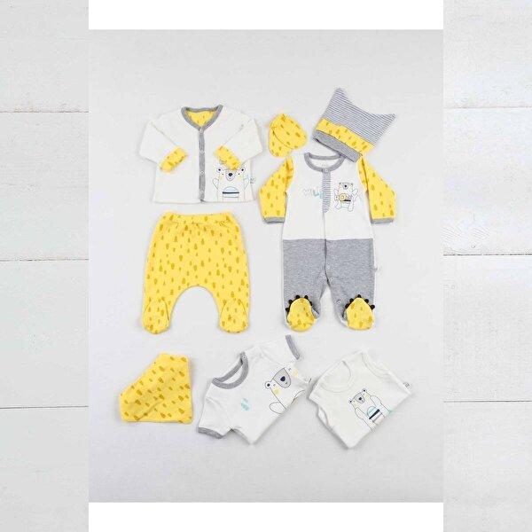 İmaj Time Sarı Erkek Bebek 8 li Hastane Çıkışı